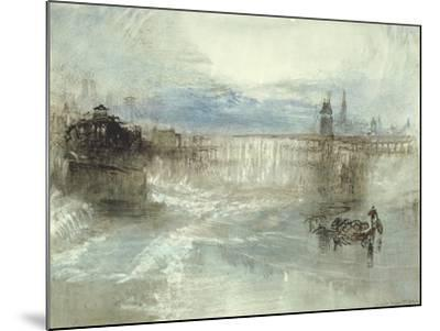 View of Lucerne, 1840-41-J^ M^ W^ Turner-Mounted Giclee Print
