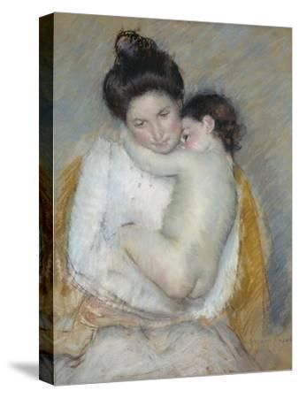 Mother and Child, C.1900-Mary Cassatt-Stretched Canvas Print