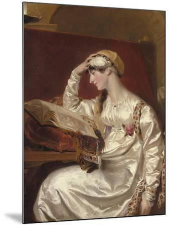 Mrs. Jens Wolff, 1803-15-Thomas Lawrence-Mounted Giclee Print
