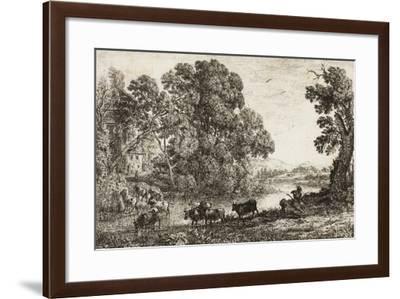 The Cowherd, 1636--Framed Giclee Print