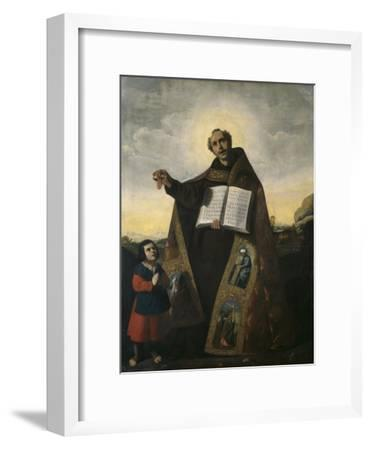 Saint Romanus of Antioch and Saint Barulas, 1638-Francisco de Zurbaran-Framed Premium Giclee Print