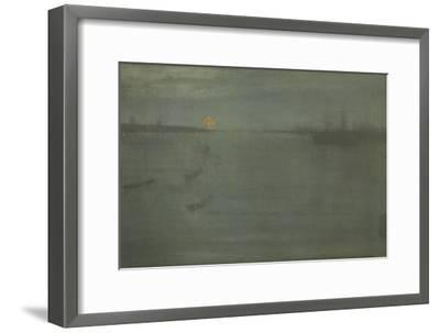 Nocturne: Blue and Gold, Southampton Water, 1872-James Abbott McNeill Whistler-Framed Giclee Print