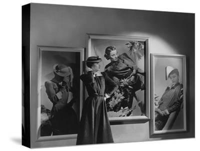 Vogue - February 1938-Horst P. Horst-Stretched Canvas Print
