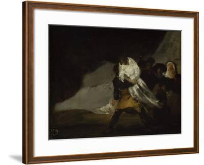 The Hanged Monk, C.1810-Francisco de Goya-Framed Giclee Print