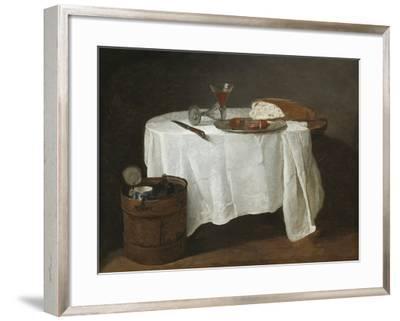 The White Tablecloth, 1731-32-Jean-Baptiste Simeon Chardin-Framed Giclee Print