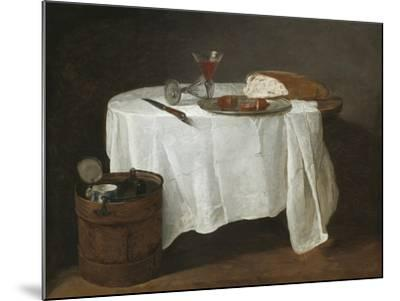 The White Tablecloth, 1731-32-Jean-Baptiste Simeon Chardin-Mounted Giclee Print