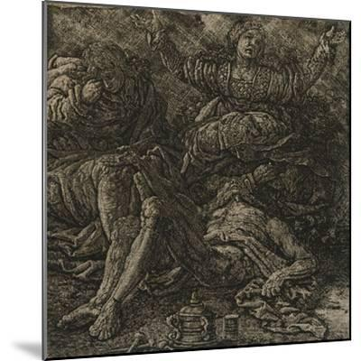 The Lamentation, C.1607-Hercules Seghers-Mounted Giclee Print
