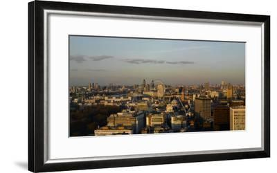 Panorama Looking East from Victoria, London-Richard Bryant-Framed Photographic Print