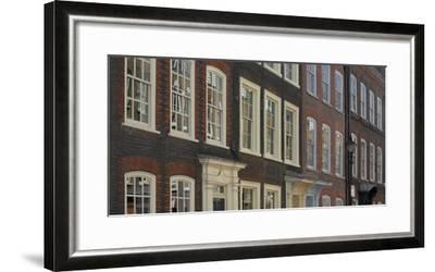 Georgian Terrace Facades, Spitalfields, London-Richard Bryant-Framed Photographic Print