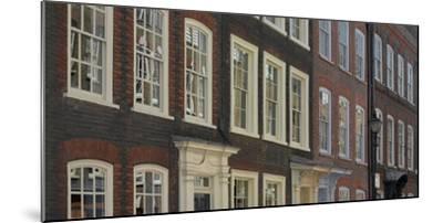 Georgian Terrace Facades, Spitalfields, London-Richard Bryant-Mounted Photographic Print