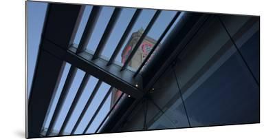 Oxo Tower Restaurant-Wharf, London Panorama-Richard Bryant-Mounted Photographic Print