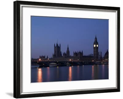 Palace of Westminster, Pre Dawn, London-Richard Bryant-Framed Photographic Print