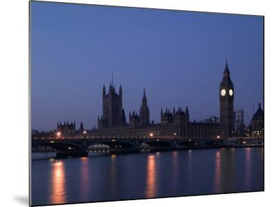 Palace of Westminster, Pre Dawn, London-Richard Bryant-Mounted Photographic Print