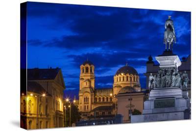 Bulgaria, Sofia-Walter Bibikow-Stretched Canvas Print