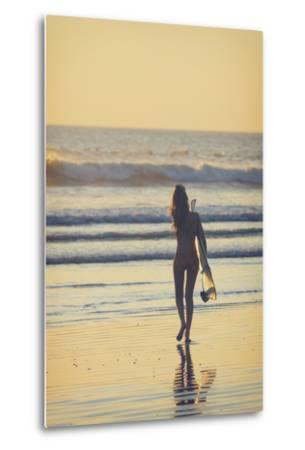 Costa Rica, Guanacaste, Nicoya Peninsula, Nosara, Playa Guiones-Michele Falzone-Metal Print