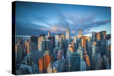 Chrysler Building and Empire State Building, Midtown Manhattan, New York City, New York, USA-Jon Arnold-Stretched Canvas Print
