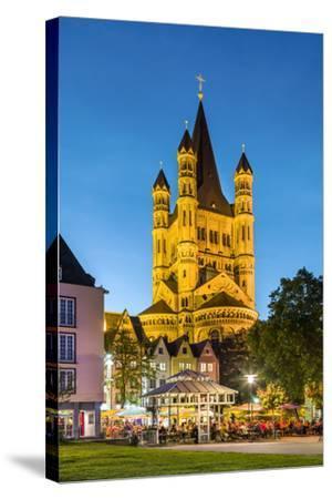 Fischmarkt, Old Town, Cologne, North Rhine Westphalia, Germany-Sabine Lubenow-Stretched Canvas Print