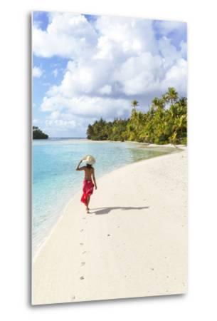 One Foot Island, Aitutaki, Cook Islands (Mr)-Matteo Colombo-Metal Print