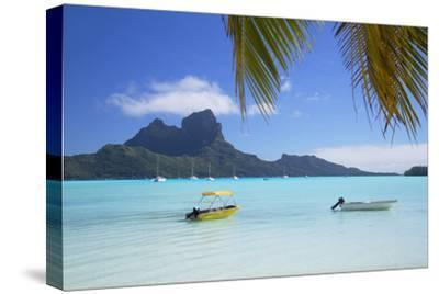 Bora Bora, Society Islands, French Polynesia-Ian Trower-Stretched Canvas Print