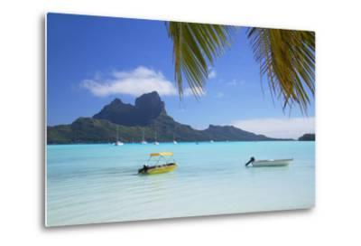 Bora Bora, Society Islands, French Polynesia-Ian Trower-Metal Print
