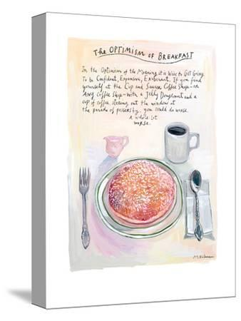 The New Yorker - July 22, 2013-Maira Kalman-Stretched Canvas Print