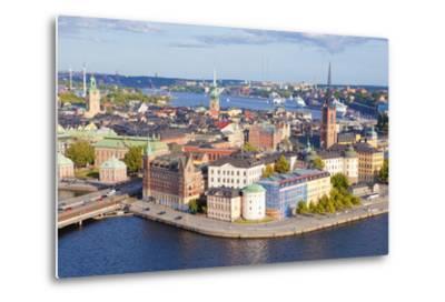 Sweden, Stockholm - the Old Town and Riddarholmen--Metal Print