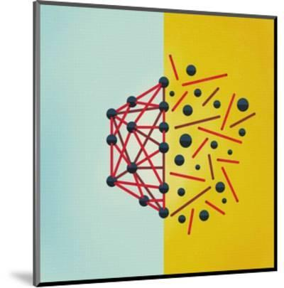 Wired-Mark Weaver-Mounted Premium Giclee Print