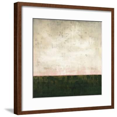 Green Horizon-Kari Taylor-Framed Giclee Print