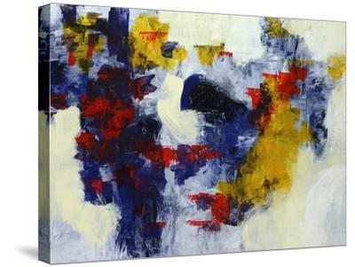 Bippity Bop Blue-Jolene Goodwin-Stretched Canvas Print
