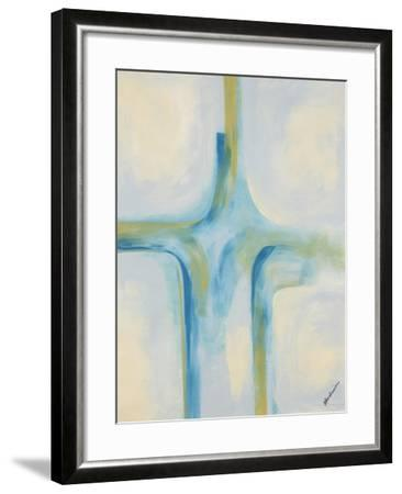 Blue Mirage-Jolene Goodwin-Framed Giclee Print