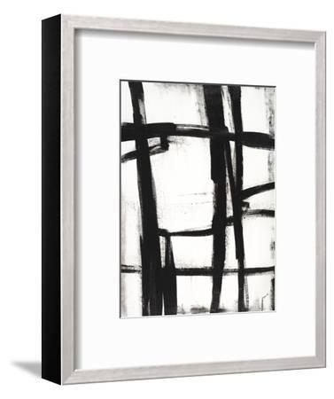 Expessive Silence II-Sydney Edmunds-Framed Giclee Print
