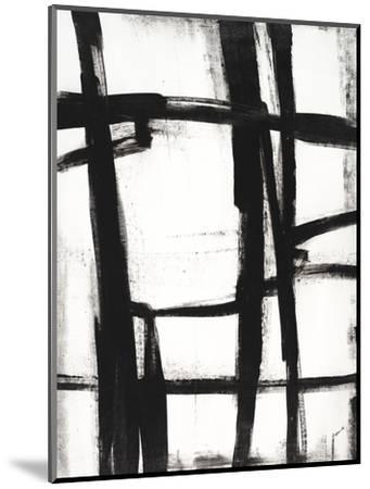 Expessive Silence II-Sydney Edmunds-Mounted Giclee Print