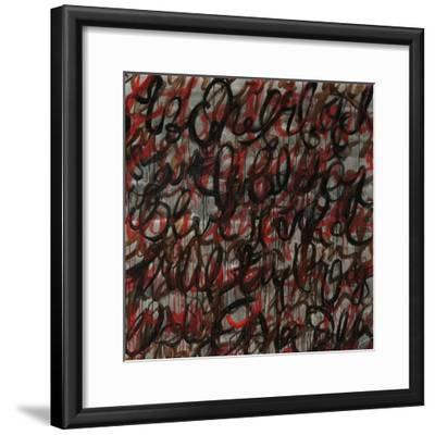 Decipher the Graffiti-Jolene Goodwin-Framed Giclee Print