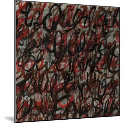 Decipher the Graffiti-Jolene Goodwin-Mounted Giclee Print