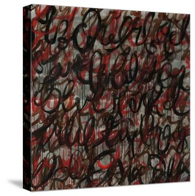 Decipher the Graffiti-Jolene Goodwin-Stretched Canvas Print