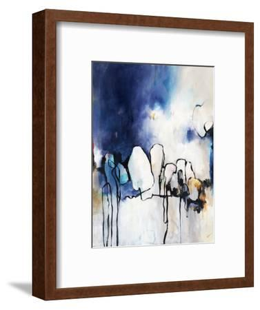 Conversationalist I-Rikki Drotar-Framed Premium Giclee Print