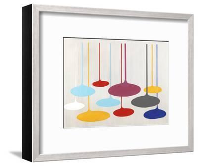 Thought Bubbles-Sydney Edmunds-Framed Giclee Print