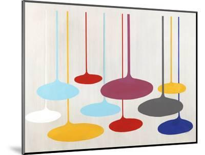 Thought Bubbles-Sydney Edmunds-Mounted Giclee Print