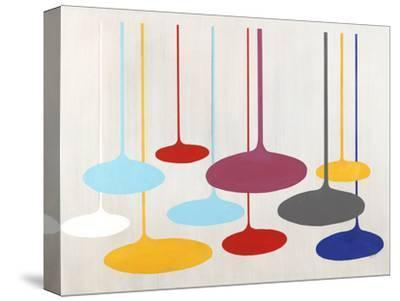 Thought Bubbles-Sydney Edmunds-Stretched Canvas Print