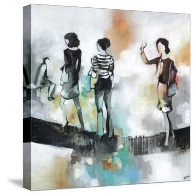 Monday II-Rikki Drotar-Stretched Canvas Print