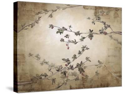 Ripe Cherry Tree-Kari Taylor-Stretched Canvas Print