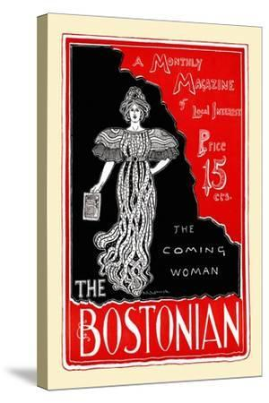 The Coming Woman, the Bostonian--Stretched Canvas Print