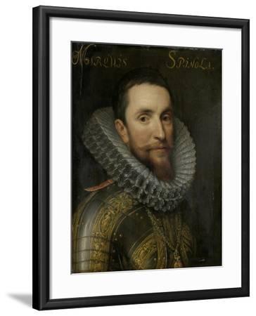 Portrait of Ambrogio Spinola--Framed Art Print