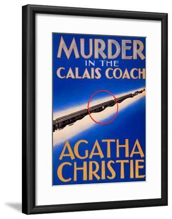 Murder in the Calais Coach--Framed Art Print