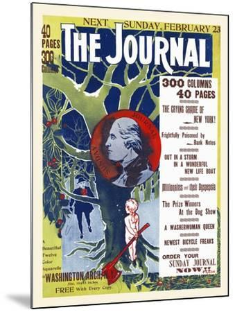 The Journal, Next Sunday, February 23--Mounted Art Print