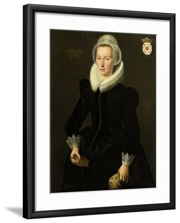Portrait of Grietje Adriaensdr Grootes-Jacques Waben-Framed Art Print
