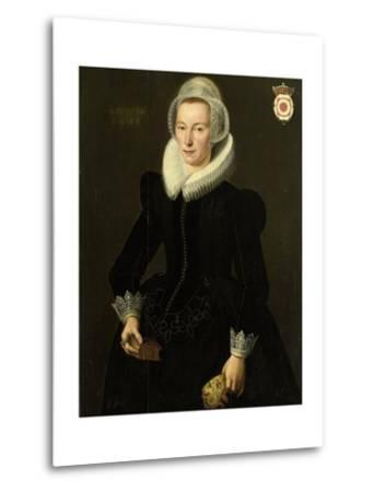 Portrait of Grietje Adriaensdr Grootes-Jacques Waben-Metal Print