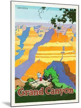 Grand Canyon-Oscar M^ Bryn-Mounted Art Print