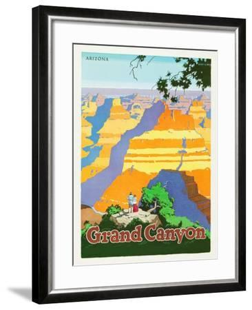 Grand Canyon-Oscar M^ Bryn-Framed Art Print
