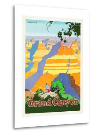Grand Canyon-Oscar M^ Bryn-Metal Print